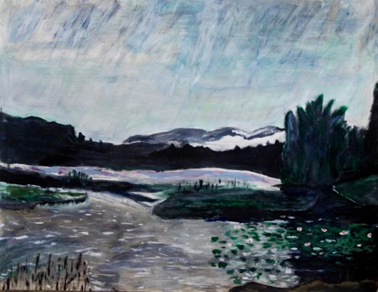 Landschaft Malen Kunstschule