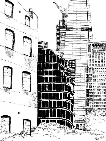Gebäude Malen Kunstschule