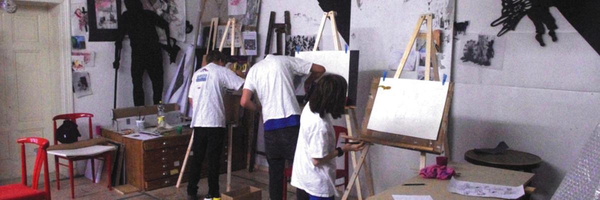 Kunstschule Malen Atelier