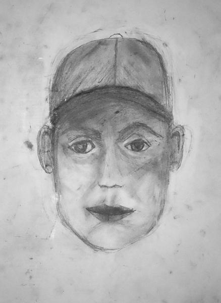 Portrait Zeichnung Kunstschule
