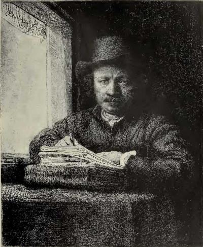 Rembrandt Selbstportrait Malschule