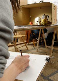 Zeichnen Malschule Stillleben