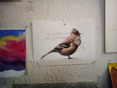 Vogel Malen Kunstschule