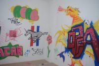 Graffiti Sprayen Kunstschule