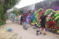 Sprayen Malschule Mauerpark