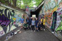 Graffiti Sommer Workshop 2017 - alle Teilnehmer